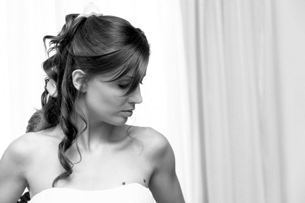 Bride at home