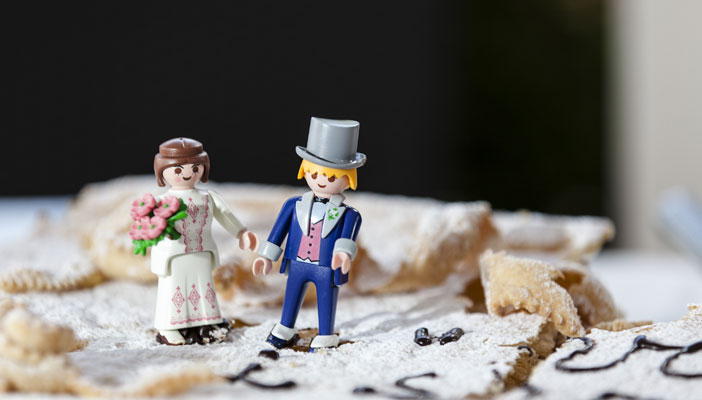 cake topper - playmobil