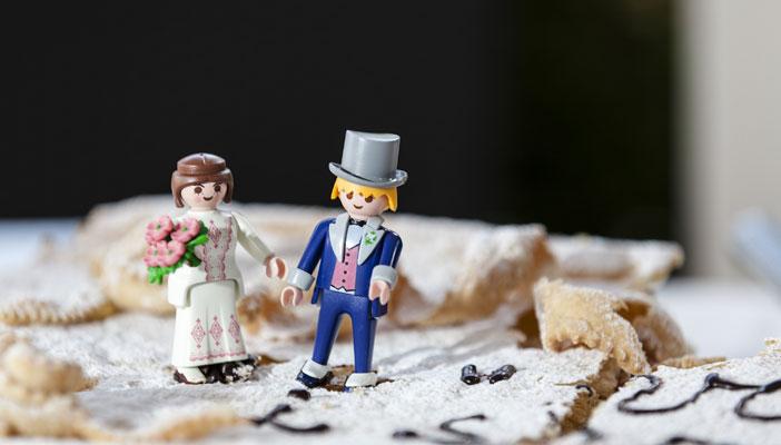 cake topper - playmobil