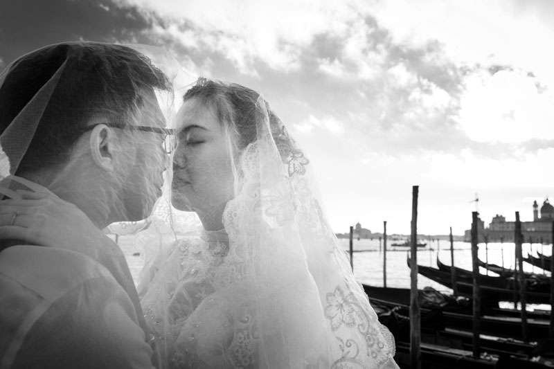fantastic wedding in Venice