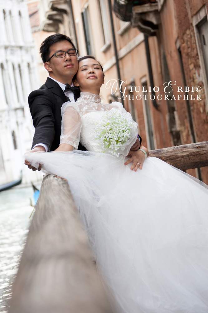 Post-wedding session in Venice