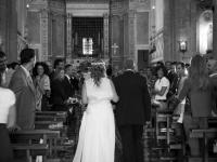 Entrata in chiesa della sposa