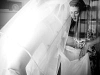 Sposa in preparazione