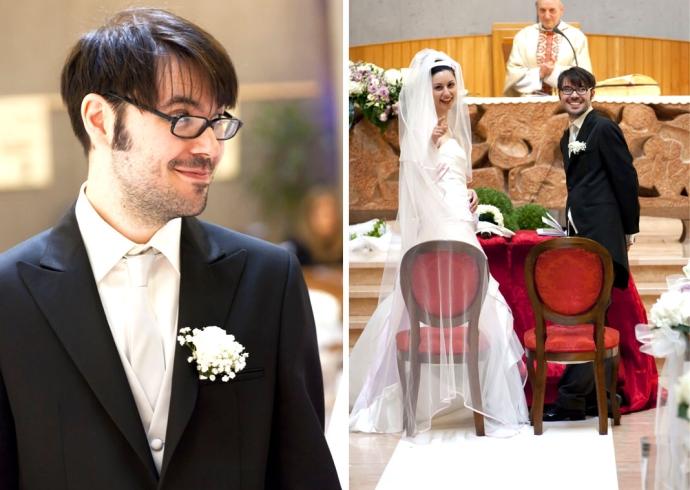 Ceremonia di matrimonio emotiva