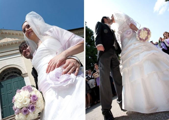 Servizio fotografico per matrimonio nel Veneto