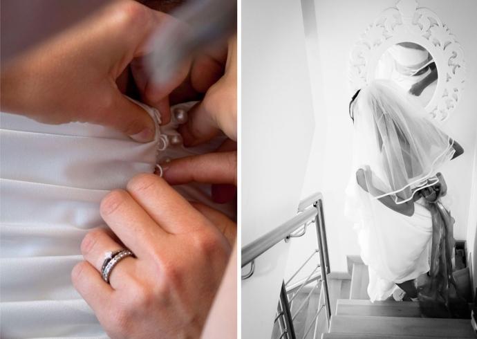 Preparazione della sposa a Padova