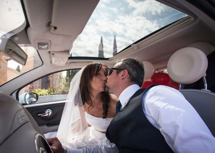L'auto di matrimonio, importantissimo