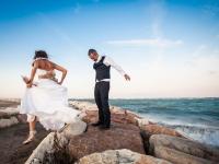 Reportage di matrimonio sul mare