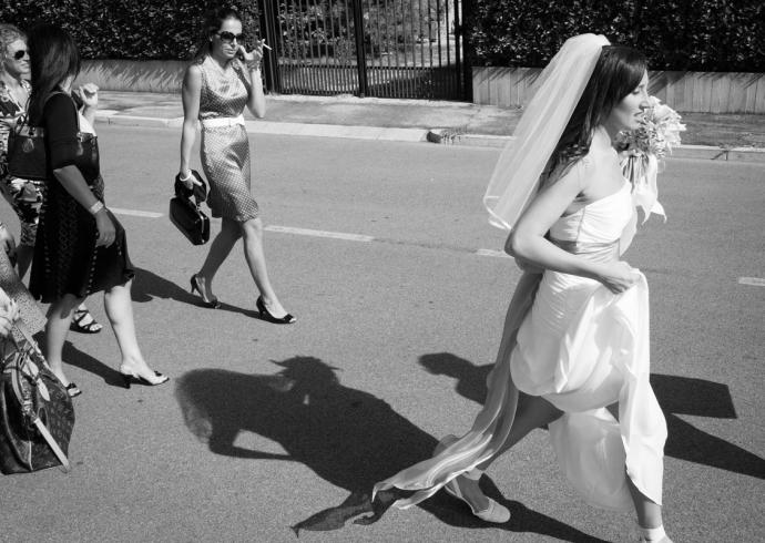 Uscita di casa della sposa in provincia di Padova