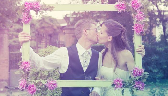 Sposi in Villa Giulia a Venezia