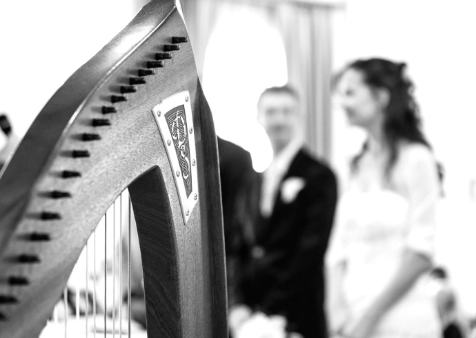 wedding music for harp and violin