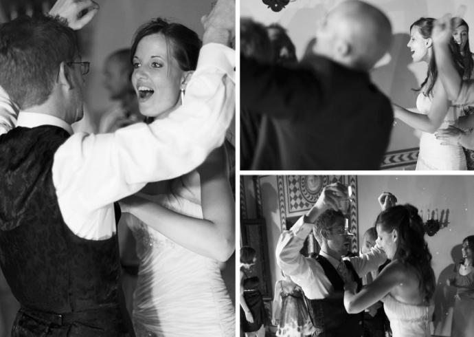 Il primo ballo del matrimonio in Villa