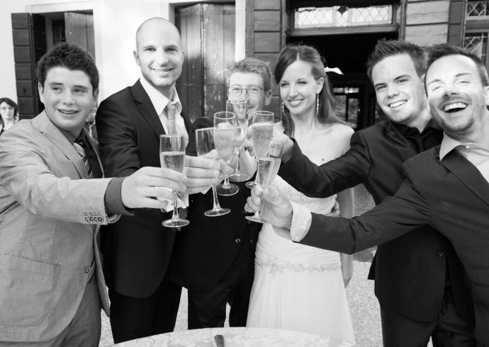 Brindisi degli sposi