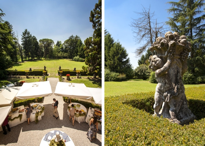 location per matrimonio in Villa Giulia Peressutti