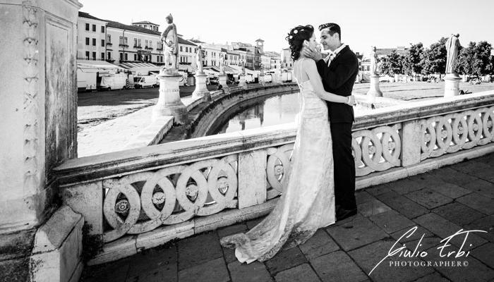 Matrimonio in città di Padova