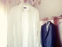 Preparazione dello sposo prima delle nozze