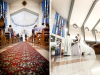 Servizio fotografico durante la cerimonia religiosa del matrimonio