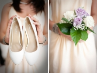 La damigella e le scarpe della sposa