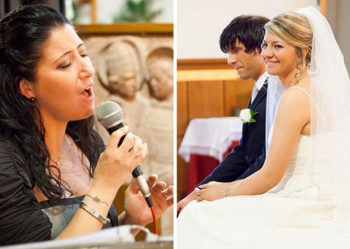 Musica durante la cerimonia religiosa di matrimonio
