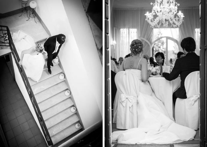 Fotografia reportage durante il ricevimento di nozze