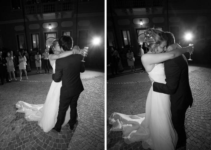 Ballo romantico degli sposi