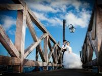 Shooting fotografico per matrimonio in zona gondole a Venezia