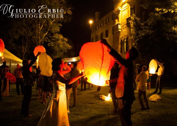 Lanterne volante, uno spettacolo magico