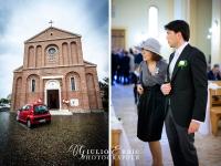 l'entrata dello sposo in chiesa