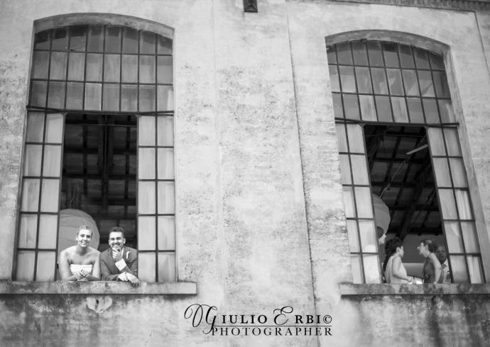Ex edificio industriale per il ricevimento di nozze