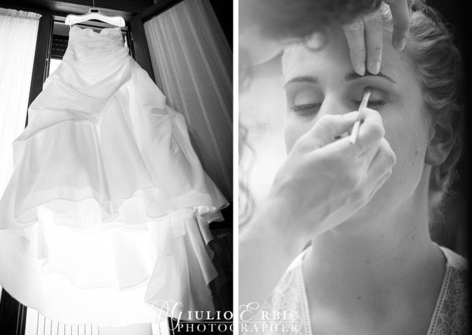 Il giorno delle nozze a casa della sposa