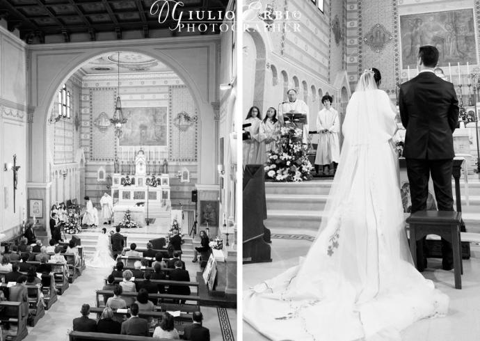 Fotografia reportage durante la cerimonia religiosa di matrimonio