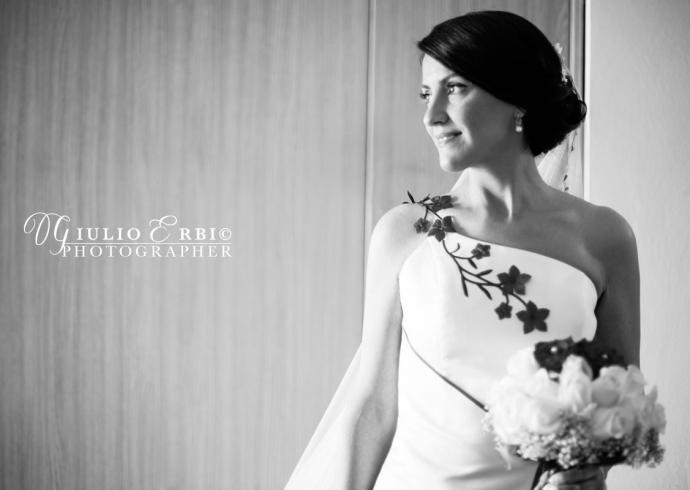 Fotografia di matrimonio in bianco e nero a Venezia