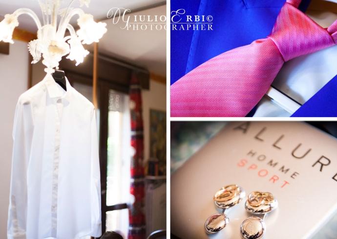 Abito da sposo e accessori
