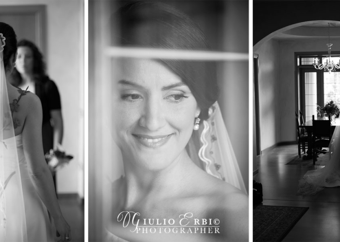 Preparazione della sposa all'Hotel Napoleone