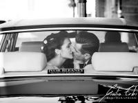 L'auto degli sposi a Padova