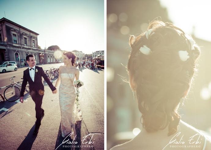 Fotografia di matrimonio in centro a Padova