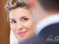 La sposa durante la cerimonia nuziale