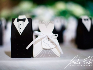 Bomboniere chic per matrimonio