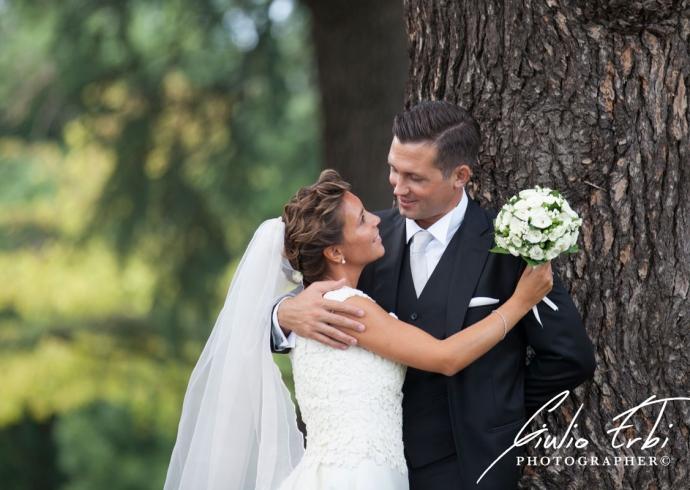 Servizio fotografico degli sposi a Vicenza