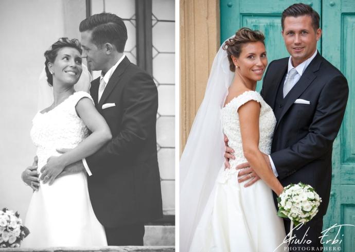 Fotografia di matrimonio in Villa