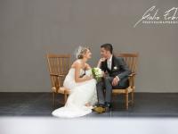 Fotografia di matrimonio al museo