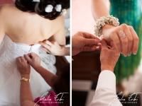 Il giorno del matrimonio a casa della sposa