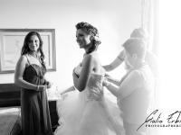 La sposa a casa prima delle nozze