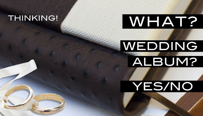 how to choose the wedding album